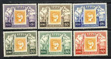 Philippines Stamp on Stamps set Sc. 605-7,C74-6 mnh vf complete 22.45