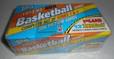 TOPPS 1992-93 NBA Basketball Cards Complete Set of Series 1 & 2 396 Picture New