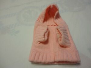 ANGEL Doggy Pet Beautiful Warm Hoodie Color Pink  Size XS