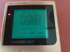 GameBoy Light Launch Gold Console. Nintendo Game Boy. EU+UK Shipping! Working!