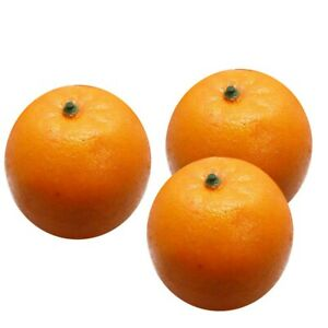 Ornament Artificial oranges Party Realistic Simulated Craft Kitchen Model