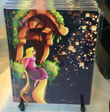 Disney WonderGround Gallery Tangled Rapunzel + Pascal Postcard by June Kim New