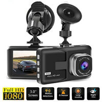 HD 1080P Car DVR Camera Dash Cam Video Recorder Camcorder Night Vision G sensor