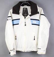 Helly HANSEN Men Jacket CZ957 Helly Tech Protection Hooded Waterproof Coat Sz S