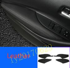 Black Interior Front Door Armrest Handle Strip Cover For Toyota Corolla 2020