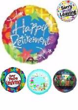 Happy Retirement Foil Balloons Party Ware Decoration Novelty Gift