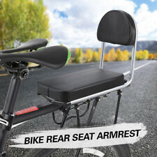 Bike Rear Seat Kid Bicycle Bike Rear Handrail Armrest Child Carrier Bike M7Q4