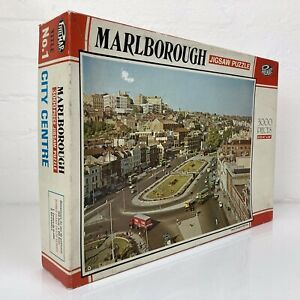 PHILMAR Vintage 1960s 3000 Piece Large Jigsaw Puzzle of Marlborough UK UNCHECKED