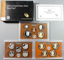 2012 United States Mint Proof Set