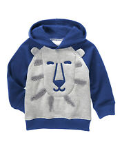 NWT Gymboree Island Hopper Lion Hoodie Sweatshirt 2T Toddler Boy