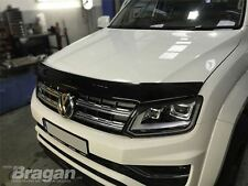 To Fit 16+ Volkswagen Amarok Smoked Acrylic Bonnet Guard Deflector Protector