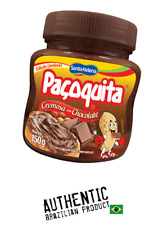 Pacoquita - Brazilian Sweet Peanut Butter with Chocolate - 5.29 oz. (150g)