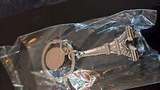Eiffel Tower Metal Keyring Keychain Keyfob Key Ring Chain