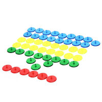 50pcs transparent plastic golf ball mark position markers 24mm golf ball maBLUS