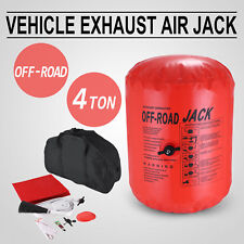 Air Jack Exhaust 4x4 Off Road 4 Tonne Lift Capacity Hose extension Anti-Slip