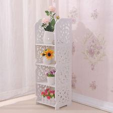 Corner Shelf Stand 4 Tier Organizer Rack Bathroom Kitchen Storage Display Unit