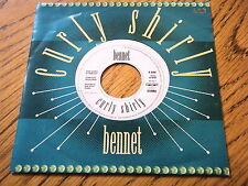 """BENNET - CURLY SHIRLY  7"""" VINYL PS"""