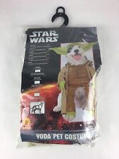 Star Wars Yoda Dog Costume small10-12 inches RUBIES NO. 50101
