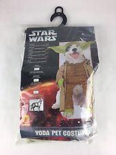 Star Wars Yoda Dog Costume small10-12 inches RUBIES NO. 50101