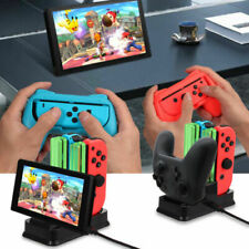 For Nintendo Switch Games Grip Caps Controller Charger Dock Accessories Kit AU
