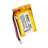 HQRP Battery for VXI Blue-Parrot Xpressway, B250-XT+ Wireless Headset