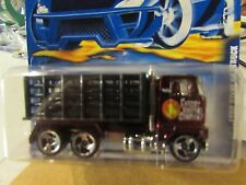 Hot Wheels Ford Stake Bed Truck Fatcat Moving company #191