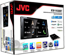 JVC KW-V430BT DVD/CD/MP3/USB/FM/Touchscreen/Bluetooth Car Stereo New KWV430BT