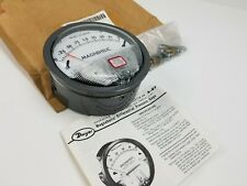 "DWYER 2000-00 MAGNEHELIC 4"" DIFFERENTIAL PRESSURE GAUGE 15 PSI"