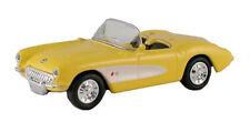 1957 Chevy Corvette, Giallo - 1:87/H0 Gauge-MODEL POWER (19259)