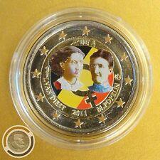 Berühmte Persönlichkeit Bi-Metall Münzen aus Belgien nach Euro-Einführung