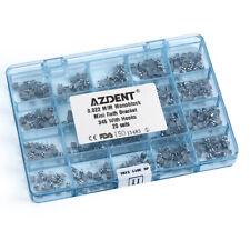 1 Box Dental Orthodontic Mini Roth 022 Hooks 3 4 5 Metal Brackets MIM Monoblock
