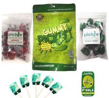 EXTREME PICKLE CANDY SAMPLER (5PC SET) PICKLES LOLLIPOPS, MINTS, CANDIES & GUMMY