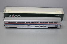 Kato 4-Achser Amtrak Superliner Doppelstockwagen Coach Spur N OVP