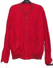 Joli blouson vintage homme rouge BURBERRYS T 48 TBE