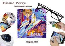 aladdin disney #1 essuie verre chiffon microfibres lunettes téléphone