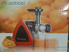 Aobosi AMR520 Slow Masticating Cold Press Fruit Vegetable Quiet Juicer Extractor