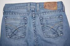 Lucky Brand Denim Jeans Zoe & Avalon Long Inseam SZ 4 / 27 USA Made Dungarees