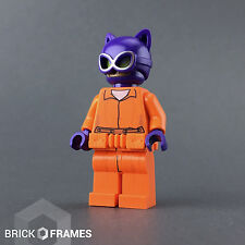 Lego Prison Catwoman Minifigure - BRAND NEW - Arkham Asylum Batman Movie - 70912