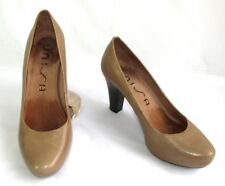 UNISA Court shoes NUMAR heels 8 cm all leather smooth brown 38