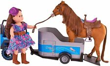 """My Life As Horse Trailer for 18"""" Horses (Doll and Horse Not Included)"""
