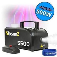 Máquina de Niebla Halloween Fiesta De Humo Control Remoto Con Cable 500 W Dj Discoteca Diversión Nuevo