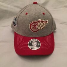 Detroit Red wings YOUTH Winter Classic Big House Reebok Flex Fit Hat . Cap NHL