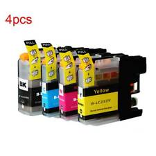 4PCS DCP-J4120DW Printer Ink Cartridges For Brother LC233 LC231BK LC231C LC231M