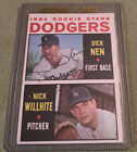 Autographed Dick Nen 1964 Topps #14 Dodgers Signed Rookie Stars Baseball Card. rookie card picture