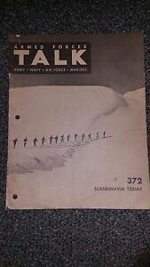 """Armed Forces Talk military magazine #372 """"Scandinavia Today"""""""