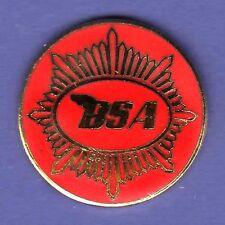 BSA MOTORCYCLE HAT PIN LAPEL PIN TIE TAC ENAMEL BADGE #2030