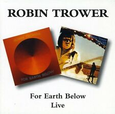 Robin Trower - Live / for Earth Below [New CD]