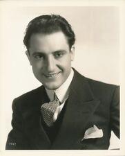 JOSE CRESPO Original Vintage 1930s CLARENCE BULL MGM Studio DBW Portrait Photo