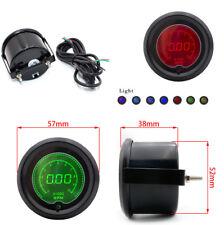 "1PC 2"" 52mm Auto Car Digital Tachometer Tacho Gauge RPM 7 Colors LED Display 12V"