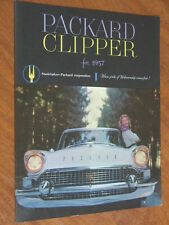 1957 Packard Clipper original US large format 12 page brochure